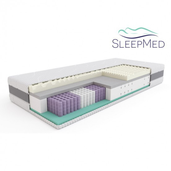 SLEEPMED HYBRID SUPREME - materac multipocket