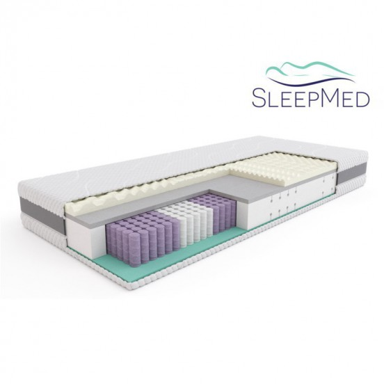 SLEEPMED HYBRID PREMIUM - materac multipocket