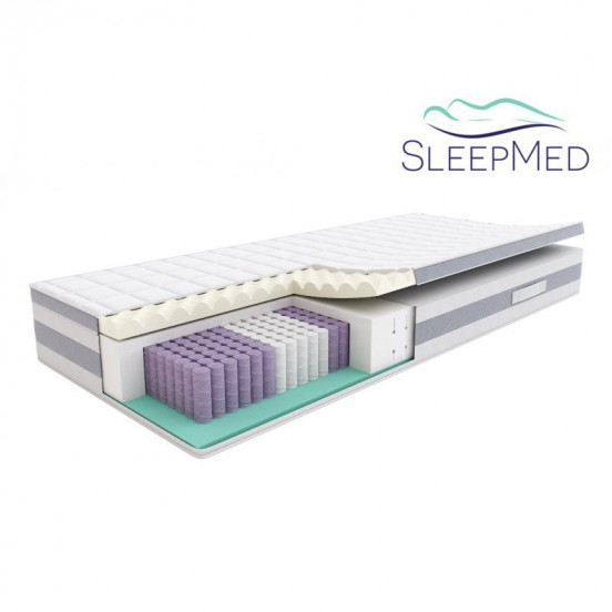 SLEEPMED HYBRID COMFORT PLUS - materac multipocket
