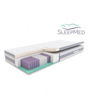 SLEEPMED HYBRID PREMIUM PLUS - materac multipocket