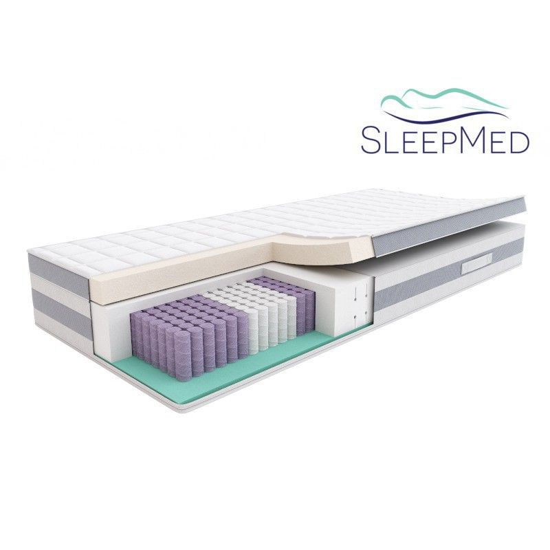 SLEEPMED HYBRID SUPREME PLUS - materac multipocket
