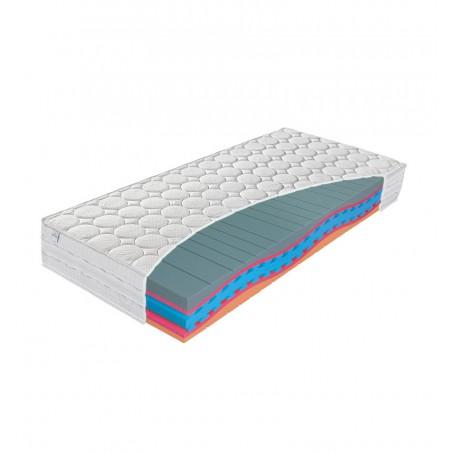 MATERASSO COMFORT ANTIBACTERIAL - materac termoelastyczny, piankowy