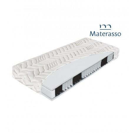 MATERASSO KOMODOR BIO EX - materac kieszeniowy, sprężynowy