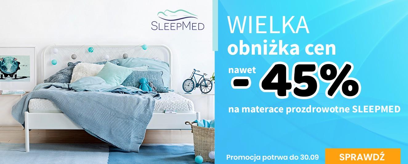 Materace SleepMed - wielka promocja -45%