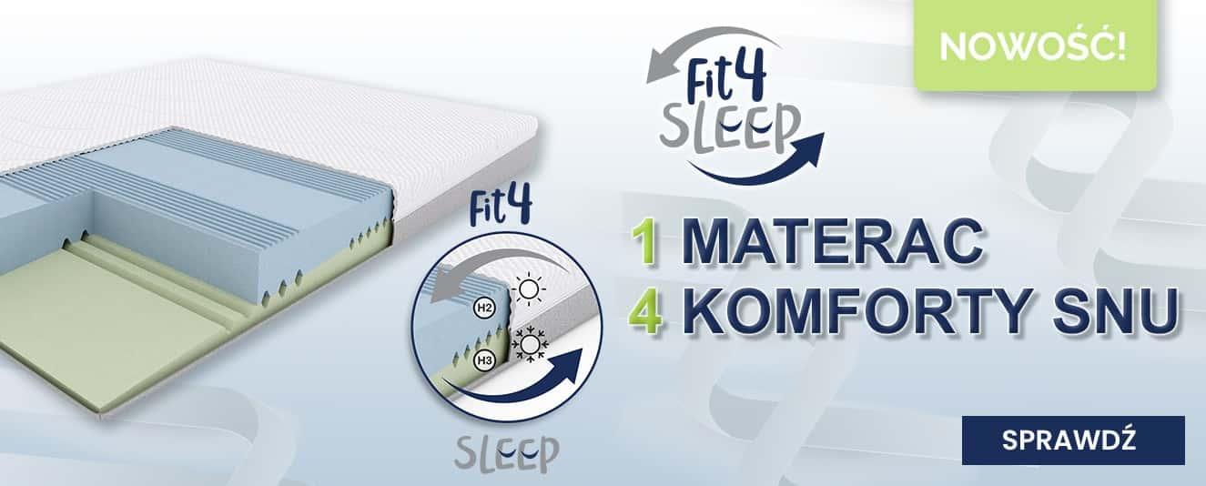 Fit.4.Sleep - materace z regulacją twardości